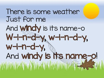 Animated Weather Songs with Sing Along Track