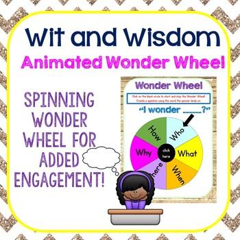 Animated Wit and Wisdom Wonder Wheel