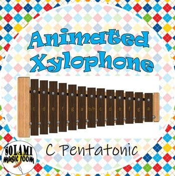 Animated Xylophone C-Pentatonic