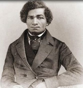 "Animated Young Frederick Douglass ""Harry Potter Magical Portrait"""