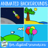 Animated backgrounds GIFs for Boom, Google Slides and PowerPoint