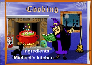 Animated learn about cooking and preparation in a fun way 86 slides