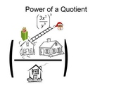 Animated power of a quotient video