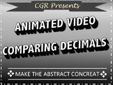 Animated video for comparing decimals