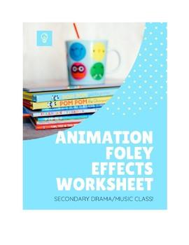 Animation Foley Effects