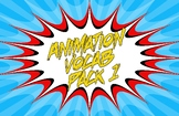 Animation Vocab Posters - Pack 1