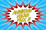 Animation Vocab Posters - Pack 2