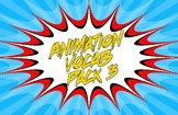 Animation Vocab Posters - Pack 3