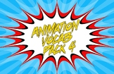 Animation Vocab Posters - Pack 4
