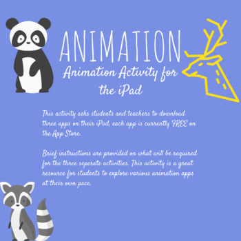 Animation activity for the iPad