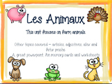 Animaux - French Animals Package