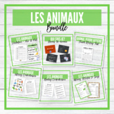 Les Animaux - Animals French Unit - BUNDLE!