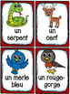 Animaux de la forêt - Cartes de vocabulaire (27) - French