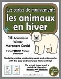 Animaux en hiver: les cartes de mouvement (Animals: movement cards - DPA)
