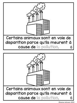 Animaux en voie de disparition ~ French Endangered Animals Reader plus BOOM™