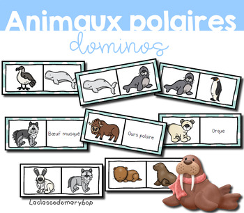 Animaux polaires - Dominos - French