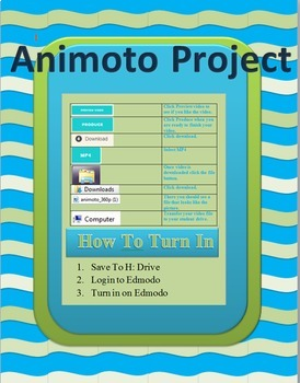 Animoto Short Flim Project (Youtube tutorials included!)