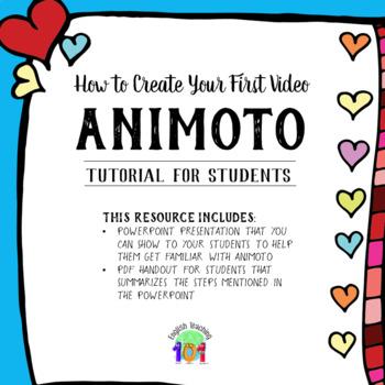 Animoto tutorial sue bryce education.
