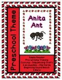 Anita Ant - L1 Gold 'Cycle' Theme Unit - Preschool { PbN } Life Cycle Pre-K