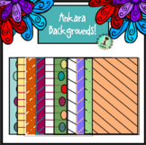 Ankara Backgrounds - SUPER PACK!!