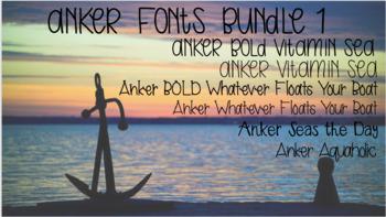 Anker Fonts Bundle 1