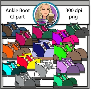 Ankle Boots Clipart