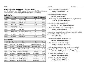 Ankunftstafel & Abfahrtstafel - Arrival & Departure Boards (Train)