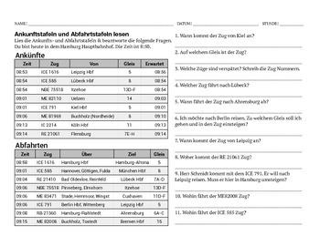 Ankunftstafel & Abfahrtstafel - Arrival & Departure Boards