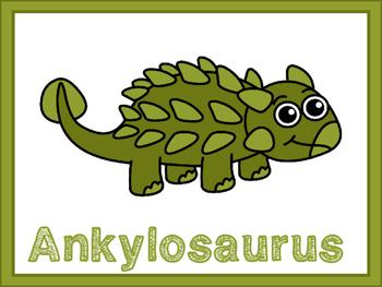 Ankylosaurus Graphic Organizers