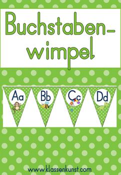 Anlaut Wimpel *GRÜN*