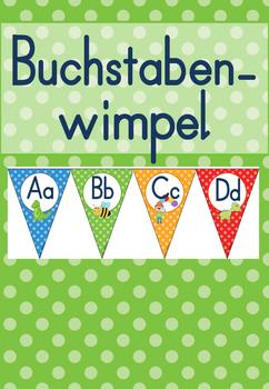 Anlaute Wimpel *BUNT*