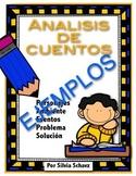 Análisis de cuentos ¡En español!  GRATIS