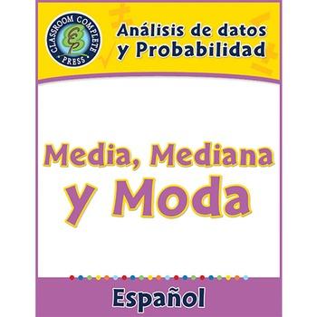 Análisis de datos y Probabilidad: Media, Mediana y Moda Gr. 6-8
