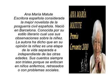 """Análisis literario para """"La conciencia"""" por Ana María Matute"""