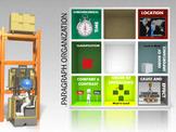 TEXT ORGANIZATION- Anlyzing Organization - Interactive Animated Powerpoint