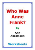 "Ann Abramson ""Who Was Anne Frank?"" worksheets"