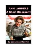 Ann Landers - A Short Biography