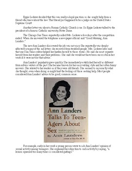 Ann Landers - A Short Biography