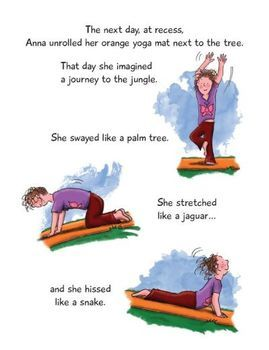Yoga Happiness Book for Kids - Anna and her Rainbow-Colored Yoga Mats