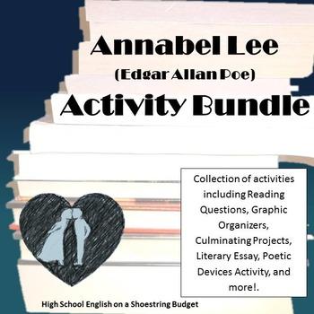 Annabel Lee Activity Bundle (E.A. Poe) Word