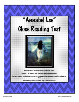 Annabel Lee Close Reading Test