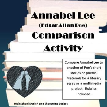 Annabel Lee Comparison Essay or Multimedia Project (E.A. Poe)