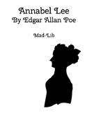 Annabel Lee- Edgar Allan Poe Mad-Lib