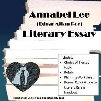 Annabel Lee Literary Essay (E.A. Poe)