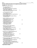 Annabel Lee Poem & Questions