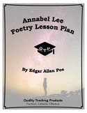Lesson: Annabel Lee Poem by Edgar Allan Poe Lesson Plans, Worksheets, Key