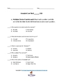 Annabel Lee Unit Test