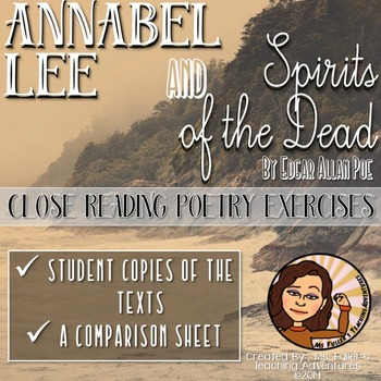 Annabel Lee and Spirits of the Dead- Poetry of Edgar Allan Poe