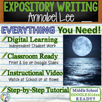 Annabel Lee by Edgar Allan Poe - Text Dependent Analysis E