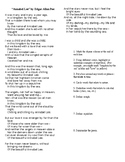 Annabel Lee with Annotation Instructions